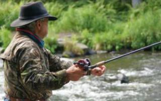 Мужские часы с рыбой