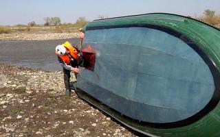 Какую лодку под мотором использовать для сплавов